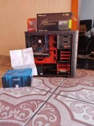 Título do anúncio: PC Gamer GTX 750 2GB  Amd Fx 6300 8gb de ram