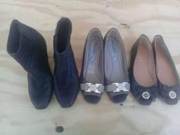 Sapatos N° 35 (Leia a descrição)