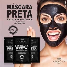 Caixa 10 sachês Máscara Preta