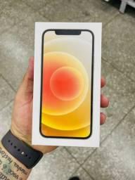 Título do anúncio: iPhone 12 branco - aparelho lacrado - o mais barato de Sorocaba e região