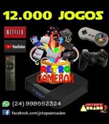 Videogame Retrô com mais de 13000 jogos