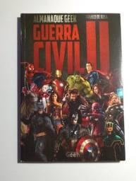 Livro Almanaque Geek Guerra Civil 2