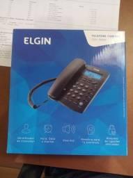 Título do anúncio: Telefone Elgin com identificador de chamadas