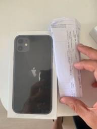 iPhone 11 de 64 gb lacrado preto