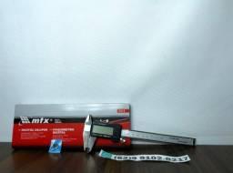 Paquimetro Digital Aço Inox Com Maleta 2 Baterias