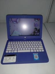 Notebook HP Steam Roxo / Garantia