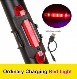 Lanterna de segurança pisca alerta, sinalizador traseiro vermelho (pronta entrega)