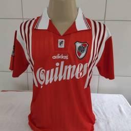 Camisa River Plate 1996 modelo retrô