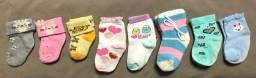 Lotinho meias bebezinha