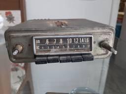 Radio antigo invictus carro