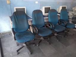 Cadeira usada para escritório e home office