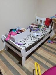 Título do anúncio: Cama e colchão infantil