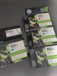 Cartuchos HP 951XL Coloridos