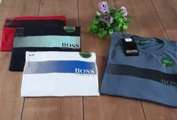 Camisa Masculino Hugo Boss Linha Premium
