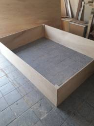 Cama box de bloco