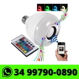 Título do anúncio: Lâmpada de Led Musical Bluetooth c/ controle