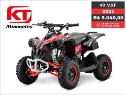 Quadriciclo 49cc MXF, 12x SEM JUROS minimoto mini moto, quadriciclo trilha