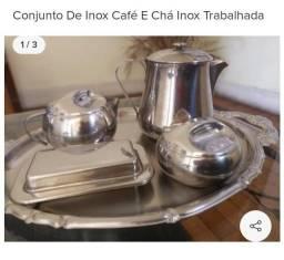 Conjunto de café e Chá Inox Tramontina