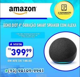 Título do anúncio: ECHO DOT 4° GERAÇÃO SMART SPEAKER COM ALEXA