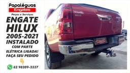 Título do anúncio: Engate Reboque carretinha Toyota Hilux Pickup 2005-2021 instalado completo