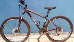 Bicicleta Mosso Alumínio aro 29 nova, brinde capacete e porta bike para carro