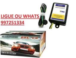 Bloqueador Automotivo, Corta Corrente, Universal Alarme Veicular Carro 12V Led Indicativo