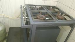 Fogao 4 bocas industrial de forno 992814749