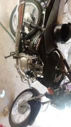 Vendo moto cg titan ks 150 ano 2005 - 2005