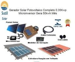 Kit Solar Completo 100kwh Mês