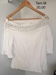 Blusa branca (M)
