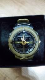 Relógio G-shock e Diesel