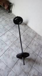 Barra com 10/10 kg