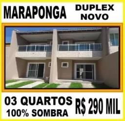 Cartier,Duplex na Maraponga,03 quartos 02 Vagas,Luxo - AR