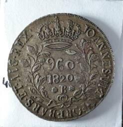 Moeda 960 Réis 1820 Bahia (Bars)
