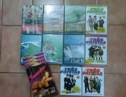 Lote de 13 DVDs por 20 reais