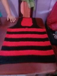 Vende se Camisa do Flamengo de croché 991235151