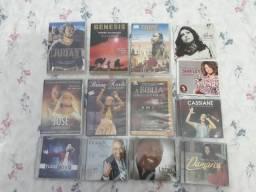 Kit de DVD / CD de filmes e músicas