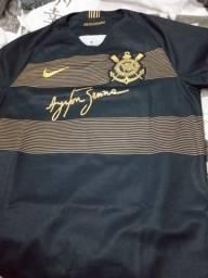 293579c975 Camisa do Corinthians original Ayrton Senna personalizada tamanho M