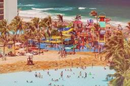 Aluguel temporada, Praia Porto das Dunas, 800 mts Beach Park Aquiraz CE