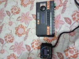 Processador de audio e voltimetro