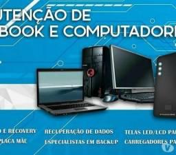 Manutenções em computadores e notebooks