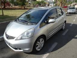Honda Fit EXL Automático 2009 Prata - 2009