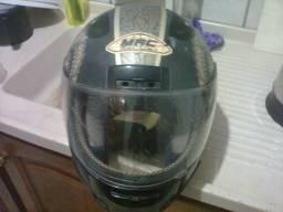 Vendo capacete usado adulto para moto