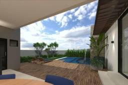 Casa Térrea 4 suítes, sendo 1 master, varanda gourmet no Jardins Milão - Em Construção
