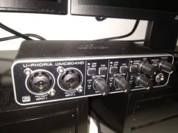 Behringer Umc204hd Interface De Áudio