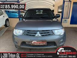 MITSUBISHI L200 TRITON 3.2 GL 4X4 CD 16V TURBO INTERCOLER DIESEL 4P MANUAL