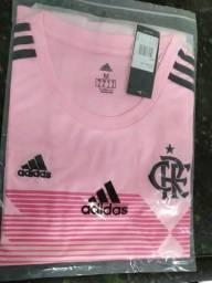 Flamengo Adidas 70 anos e Outubro Rosa. (Feminino)