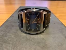 Relógio Fossil masculino Puleseira de couro