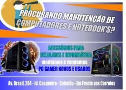 Usado, Manutenção de Notebook's e PC - Informática Hardware e Software comprar usado  Cubatão