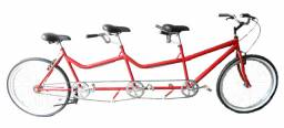 Bike Tandem 3 lugares by Mister Sucesso